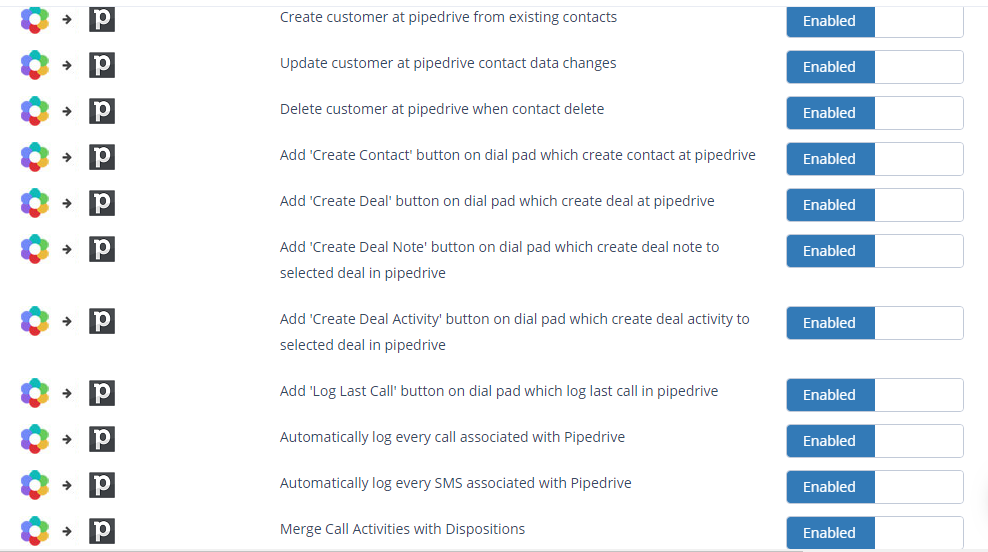 Nectar Desk can be integrated with Pipedrive and a range of other applications