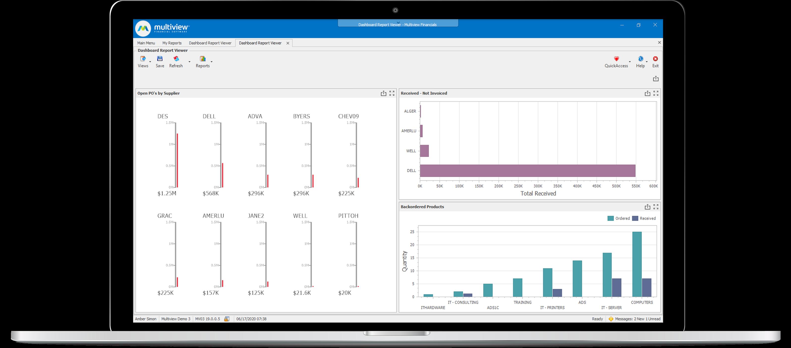 Multiview ERP Software - 3