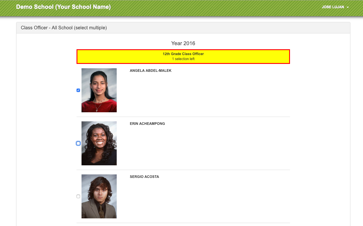 online voting software for schools
