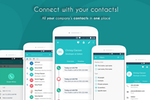 Pobuca Connect screenshot: Connect with your contacts - Pobuca Connect