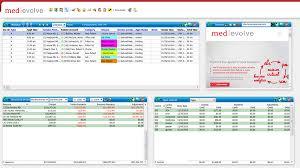 MedEvolve user dashboard