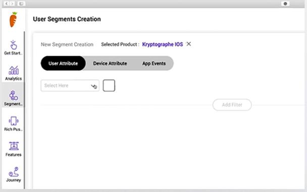 SmartKarrot user segmentation
