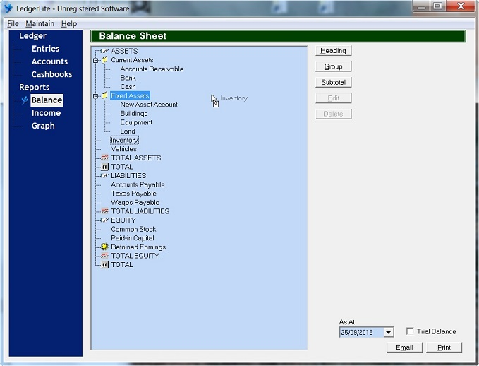 LedgerLite Software - 3