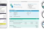Capture d'écran pour AroFlo : Automated invoices