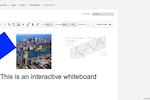 Binfire screenshot: Interactive whiteboard