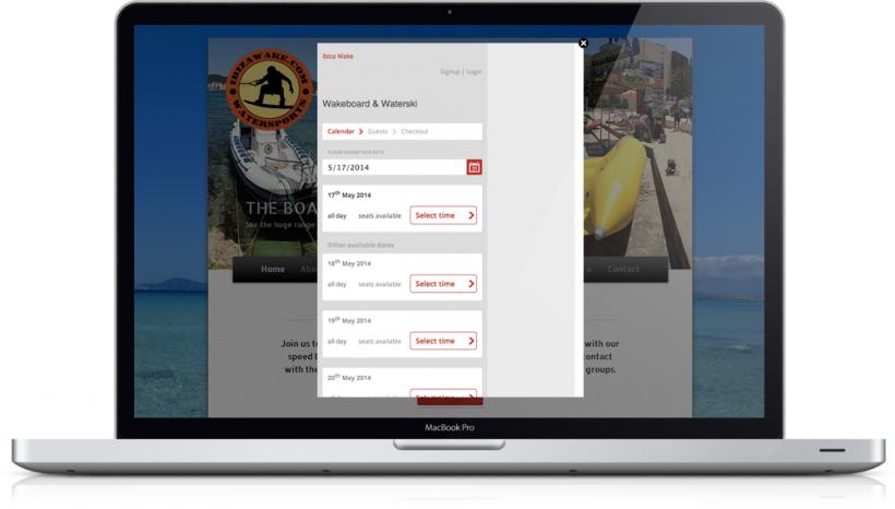 Trekksoft's custom website integrations for tour or activity provider