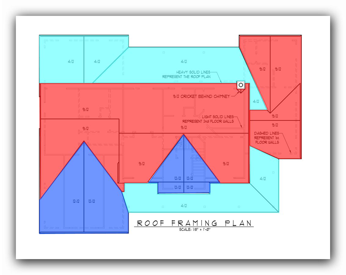 Active Takeoff roof framing plan