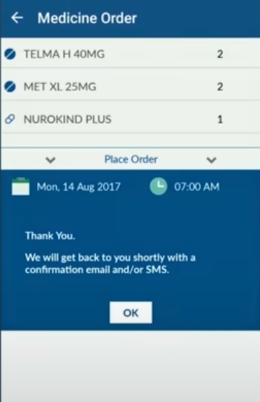 NHCircle medicine order