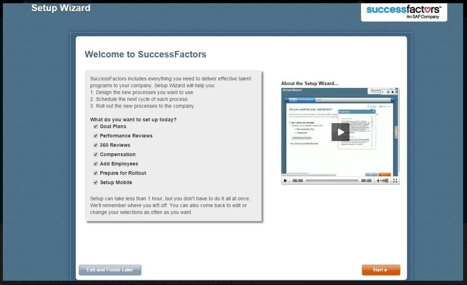 SAP SuccessFactors HCM Suite Logiciel - 4