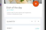 POSbistro screenshot: Online food ordering