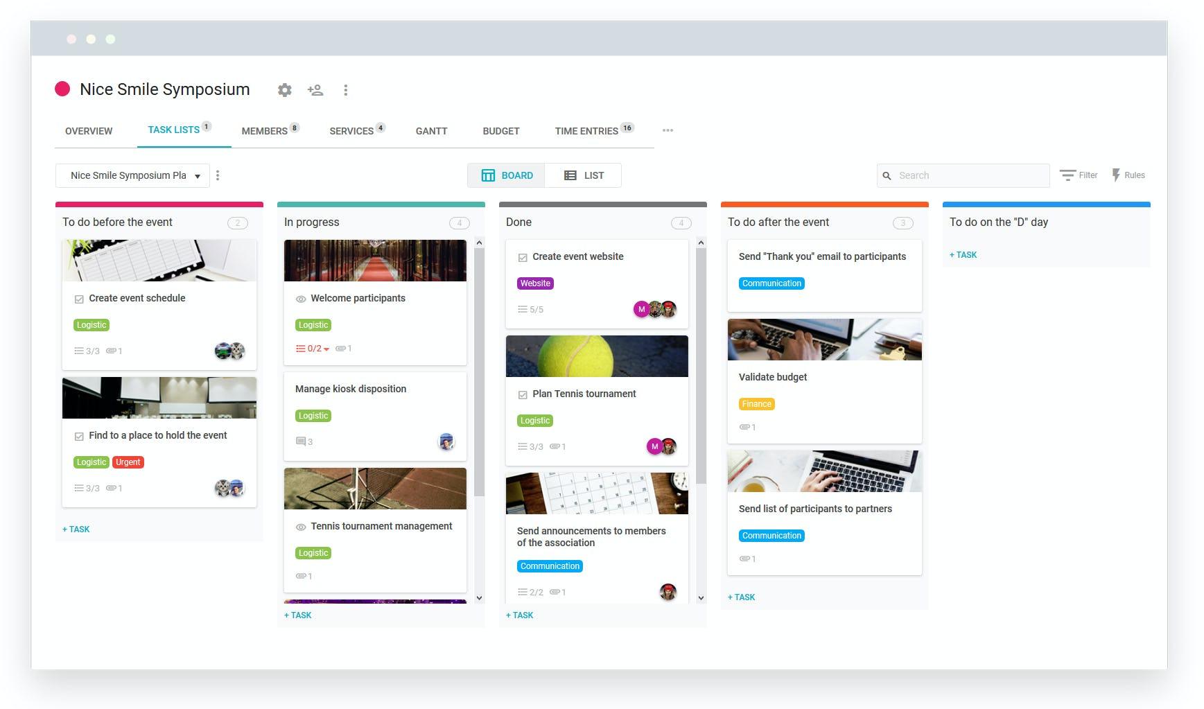 Nutcache Software - Collaborative project