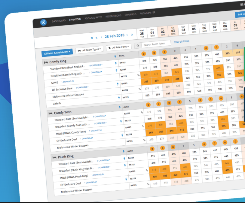Connect to more hotel distribution channels in less time with pooled inventory