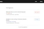 Echobox screenshot: Echobox new suggestions