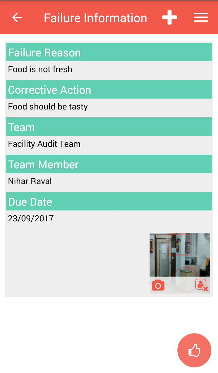 Conduct the entire audit cycle via mobile device and work offline