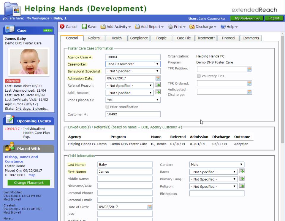 Client Profile