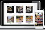 Captura de pantalla de Repsly: Photo gallery with tagging capabilities