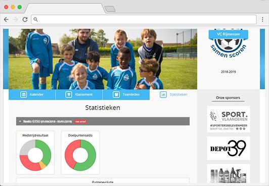 SportiveCloud team data