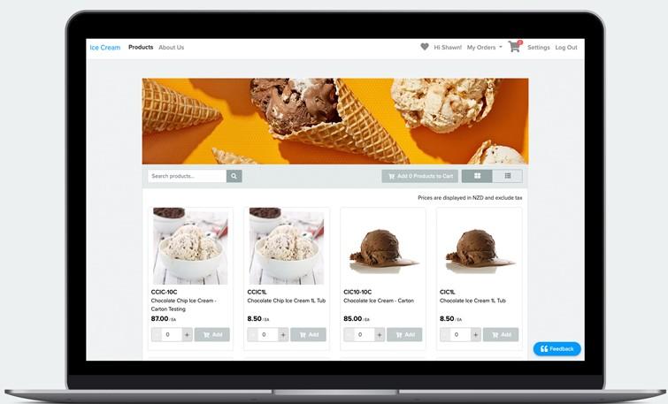 Unleashed eCommerce store