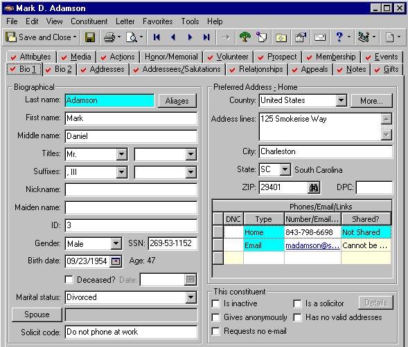 Blackbaud Raiser's Edge NXT Software - CRM