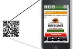 Continue to Give screenshot: With text to give, QR-Code and other options, mobile giving is facilitated