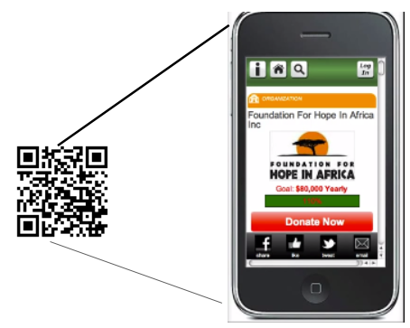 With text to give, QR-Code and other options, mobile giving is facilitated