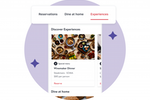 OpenTable Screenshot: OpenTable - experiences