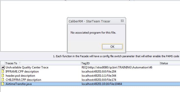 Caliber requirement programs