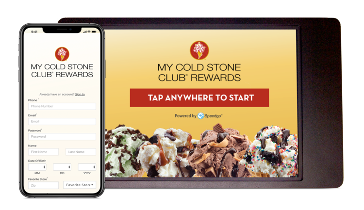 Spendgo screenshot: Mobile and In-store Experience