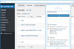 LearnDash screenshot: LearnDash course builder
