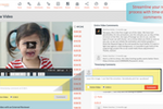 Skyword screenshot: Streamline your video review process with time-stamped comments.