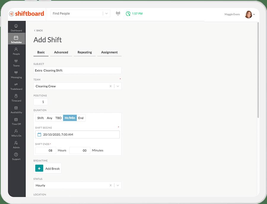 ScheduleFlex Software - Day-Of Management Tools