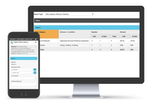 Benchmark ESG | Gensuite screenshot: Measure performance through online dashboards and provide real time feedback. Dynamic management system of contractor firms who are actively providing services. Record contractor firm employee training; integrate with onsite security.