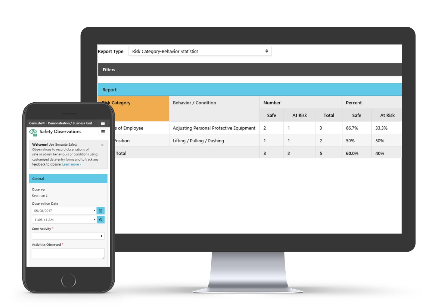 Measure performance through online dashboards and provide real time feedback. Dynamic management system of contractor firms who are actively providing services. Record contractor firm employee training; integrate with onsite security.