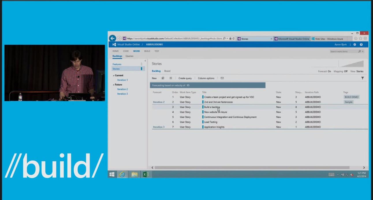 Microsoft Visual Studio Online Demo