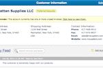 SalesBinder screenshot: SalesBinder customer account