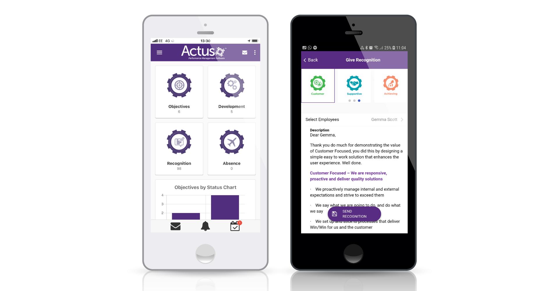 Actus Software - Mobile App