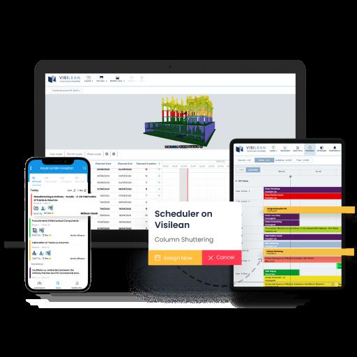 VisiLean Software - VisiLean Cloud-based Construction Management