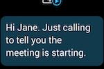 RingCentral Office screenshot: Apple Watch alerts