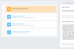 Cogsworth screenshot: Cogsworth create custom booking pages