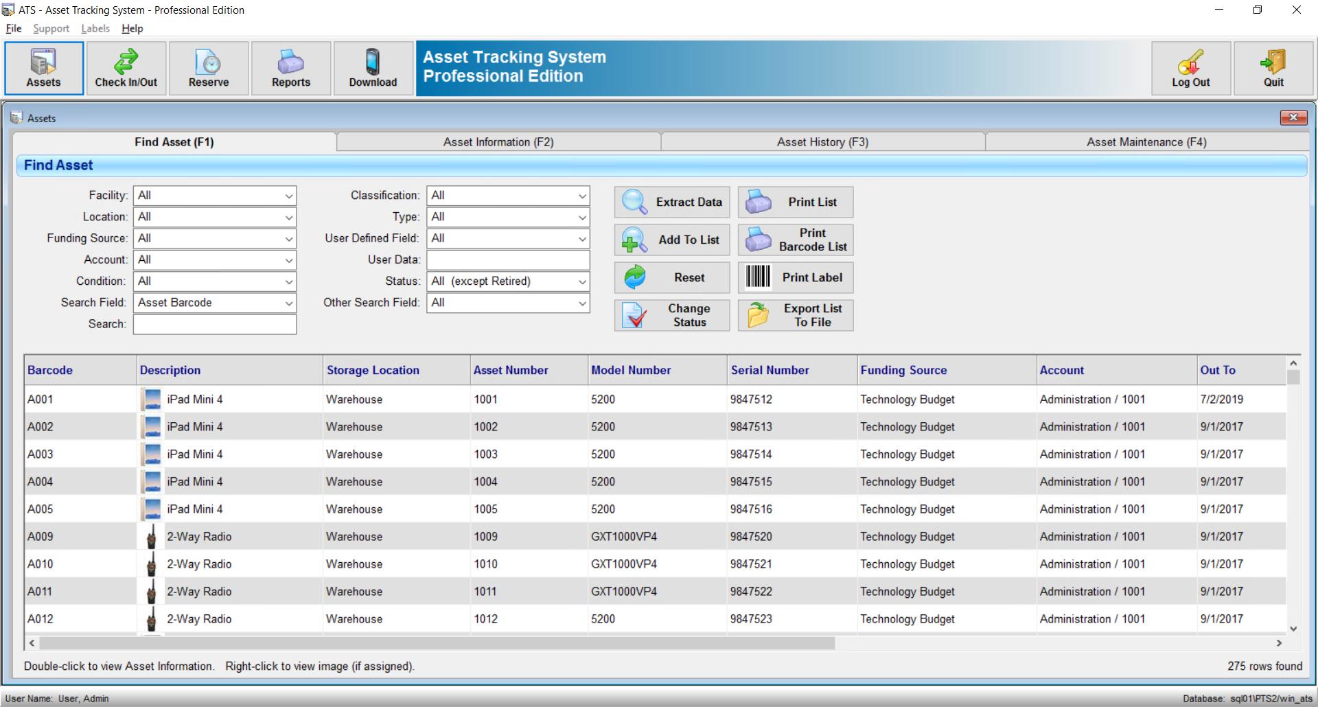 GigaTrak Asset Tracking System Software - 4