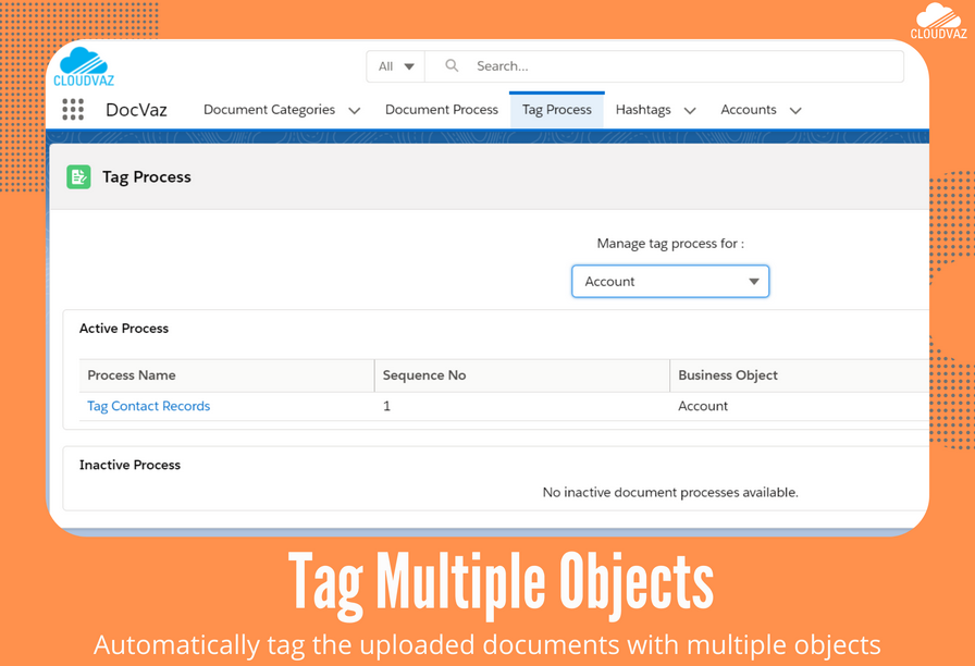 Tag multiple documents