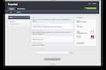 Jitbit Helpdesk screenshot: JitBit Help Desk live chat tool