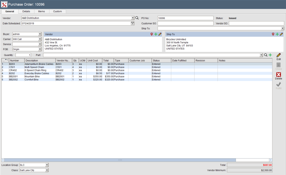 Fishbowl Software - 2