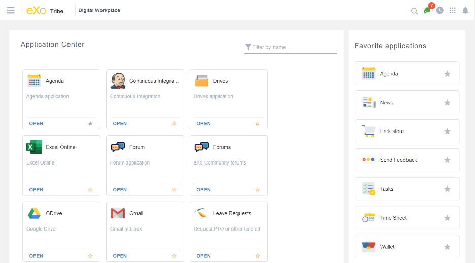 eXo Platform Software - 4