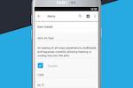 JobFLEX screenshot: Build item lists