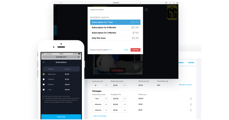 Adding subscription forms