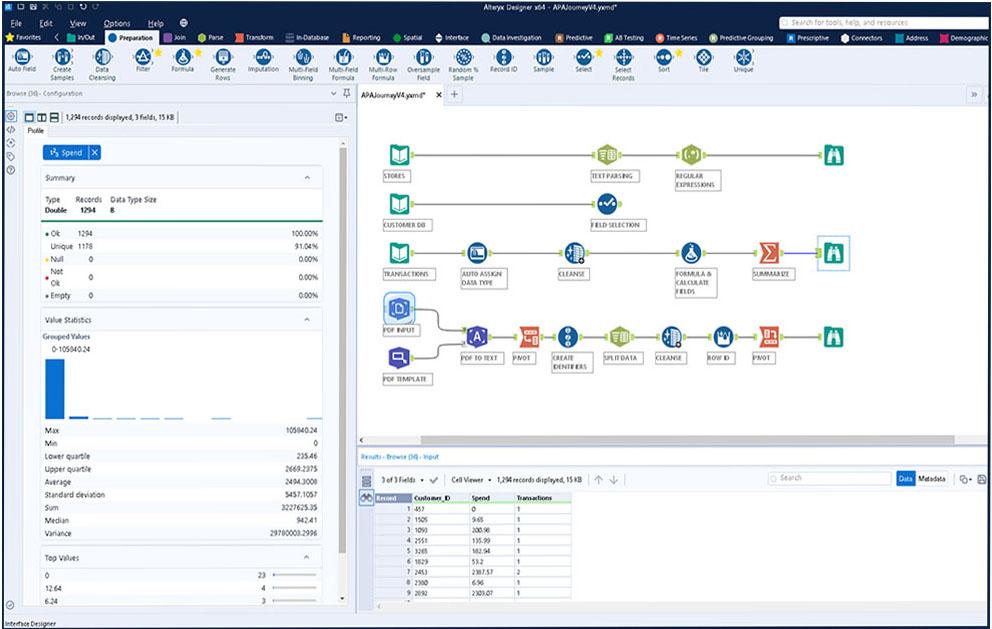 Alteryx Designer Software - 4