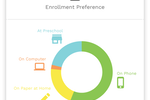 Enrollsy screenshot: Enrollsy enrollment preferences screenshot