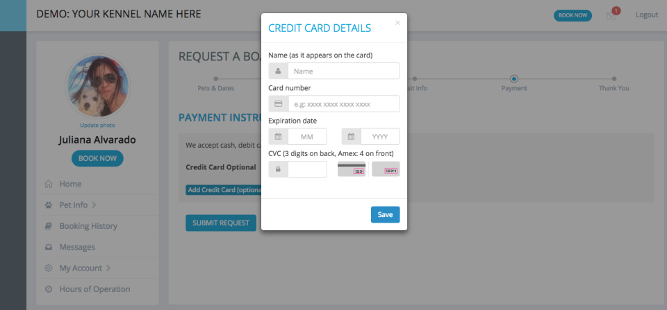 ProPet payment processing