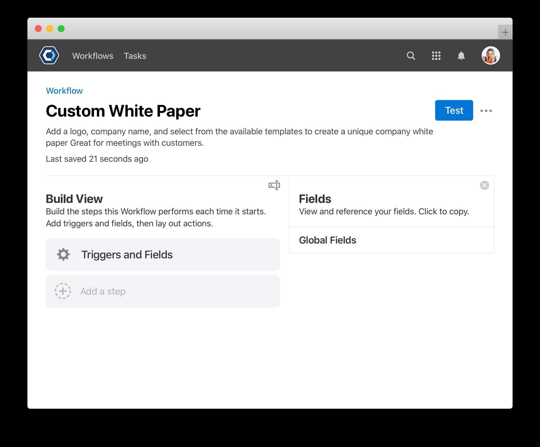 Catalytic custom white paper